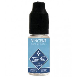NICO FILL 10ML- 20MG NICOTINE PG/VG 20/80 VDLV
