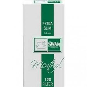 Φιλτράκια Swan Extra Slim Μέντα
