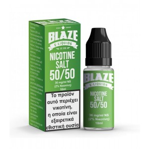 NICOTINE SALT 20MG/ML 50VG/50PG BLAZE