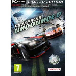 RIDGE RACER UNBOUNDED LIMITED EDITION  PC