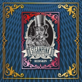 SteamPunk Mix & Vape Red Skin (20ml for 60ml)